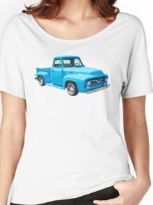 Classic 1955 F100 Ford Pickup Truck Women's Relaxed Fit T-Shirt