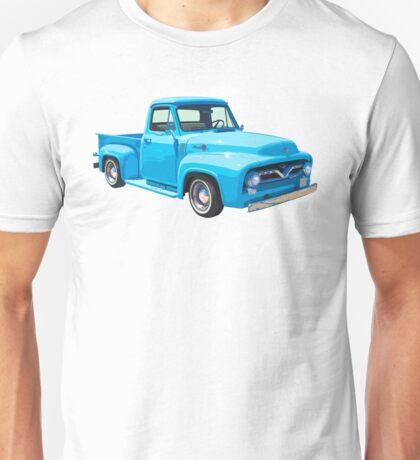 Classic 1955 F100 Ford Pickup Truck Unisex T-Shirt