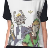 Zelda: Twilight Princess Fan Art Chiffon Top
