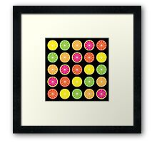 Citrus burst Framed Print