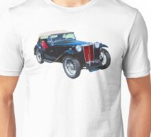 Black Mg Tc Antique Car Unisex T-Shirt