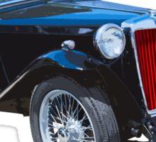 Black Mg Tc Antique Car Sticker