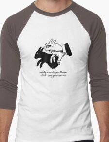 Albert Einstein - Reality is Merely an Illusion Men's Baseball ¾ T-Shirt