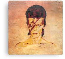 Aladdin Sane 'Rock Art' Album Cover Canvas Print