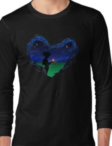 Howl meets Calcifer Long Sleeve T-Shirt