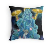 Nanako and Gaia Throw Pillow