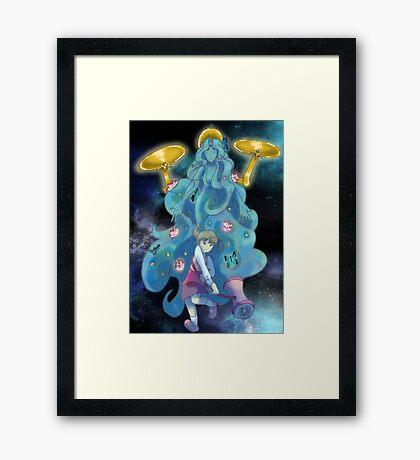 Nanako and Gaia Framed Print