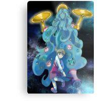 Nanako and Gaia Metal Print