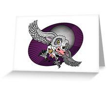 Mutant Zoo - Cowl Greeting Card