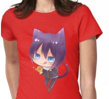 Noragami-Chibi Yato Womens Fitted T-Shirt