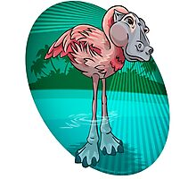 Mutant Zoo - Flamingopotamus Photographic Print