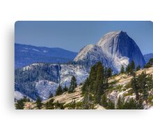 Half Dome from Olmsted Pt. Canvas Print