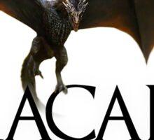Dracarys - Daenerys Targaryen's Dragon Sticker