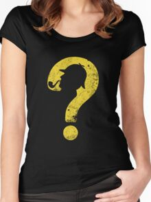In His Own Atmosphere Women's Fitted Scoop T-Shirt