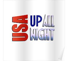 USA Up All Night Poster