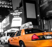 Manhattan nite taxi  Sticker