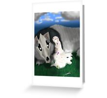 Princess of Destruction Greeting Card