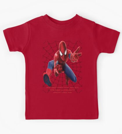The Amazing Spider Man Kids Tee