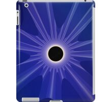 black sun - blue iPad Case/Skin