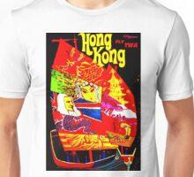 """TWA"" Fly to Hong Kong Travel Print Unisex T-Shirt"