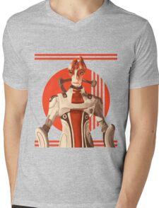 Scientist Salarian Mens V-Neck T-Shirt