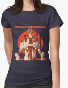 Scientist Salarian Womens Fitted T-Shirt