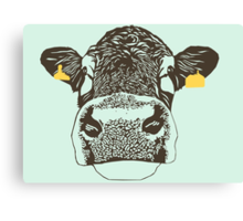Lady Cow Canvas Print
