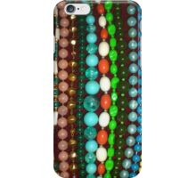 Vintage Bead Necklaces Jewellery iPhone Case/Skin