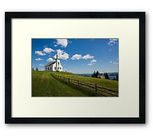 Highland Village, Cape Breton Framed Print
