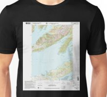 USGS TOPO Map Alaska AK Cordova C-6 355195 2000 63360 Unisex T-Shirt