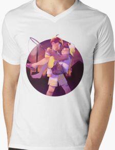 Osomatsu-san Jyushimatsu & Ichimatsu Sunset Mens V-Neck T-Shirt