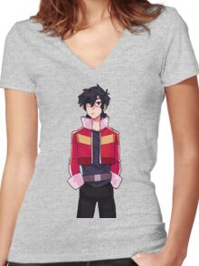 Keith - Voltron Women's Fitted V-Neck T-Shirt
