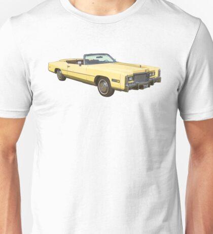 1975 Cadillac Eldorado Convertible Unisex T-Shirt