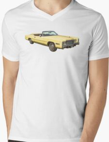 1975 Cadillac Eldorado Convertible Mens V-Neck T-Shirt