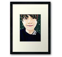 BTS (방탄소년단) - (V) TAEHYUNG 태형 Framed Print