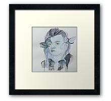 Blue Harry Framed Print