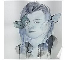 Blue Harry Poster