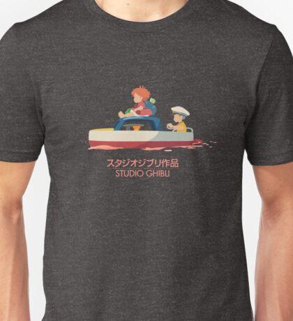 Ponyo: Drift Away Unisex T-Shirt