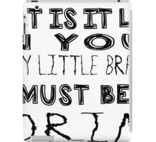 Funny Little Brains - SHERLOCK iPad Case/Skin
