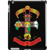 Masks n Legends iPad Case/Skin