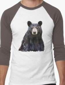 Black Bear Men's Baseball ¾ T-Shirt