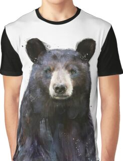 Black Bear Graphic T-Shirt
