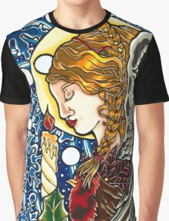 The Angel of Christmas  Graphic T-Shirt