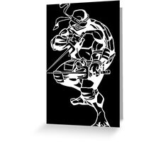 b&w Raphael Greeting Card