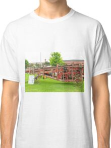 Antique Peanut Picker/Hay Baler Classic T-Shirt