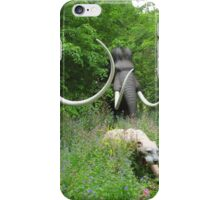 Wooly mammoth and sabre tooth tiger! iPhone Case/Skin
