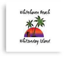 Whitehaven Beach Whitsunday Island Australia Canvas Print