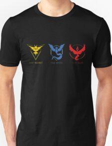 Three Teams Unisex T-Shirt