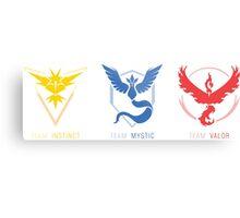 Three Teams Metal Print