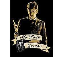 My first Doctor (Who) Tenth 10th David Tennant Photographic Print